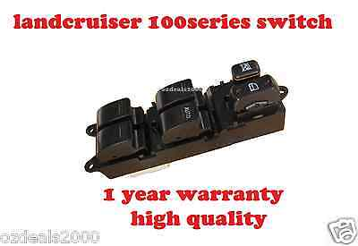Master Power Electric Main Window Switch fit TOYOTA 100 Series LANDCRUISER 98-02