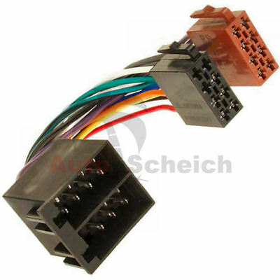 Radio Adapter ISO PEUGEOT 107 206 306 307 405 406 806 807 Cable Plug Car