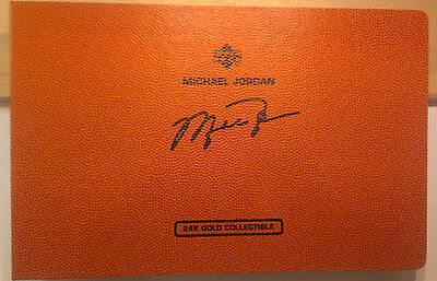 Michael Jordan Upper Deck 24K Gold Collectible Matching Set of 3 Limited edition