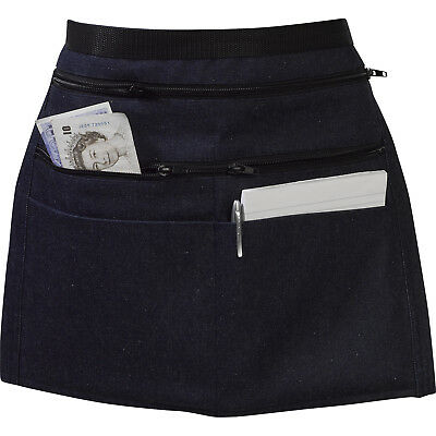 Zip Pocketed Cash Pouch Money Apron Heavyduty Car Boot Trader Adjustable Strap