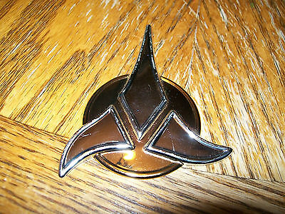 Franklin Mint STAR TREK Collection Sterling Silver Insignia Klingon empire