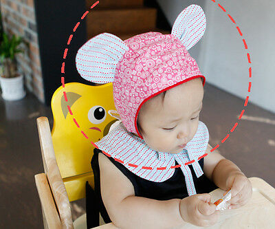 Cute Newborn Baby Cap Hat Bonnet Girl Boy Cotton Infant Toddler Handmade Eb13