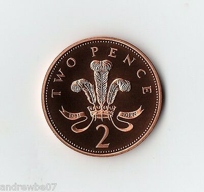 Various 1982-2016 2p Proof Coin ~ Two Pence MINT ~ From Collection Set