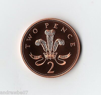 Various 1982-2019 2p Proof Coin ~ Two Pence MINT ~ From Collection Set