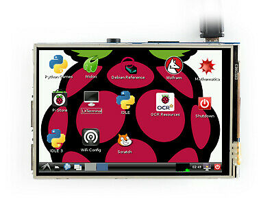 3.5 inch TFT Touch Screen 320×480 Raspberry Pi LCD Resistive Touch