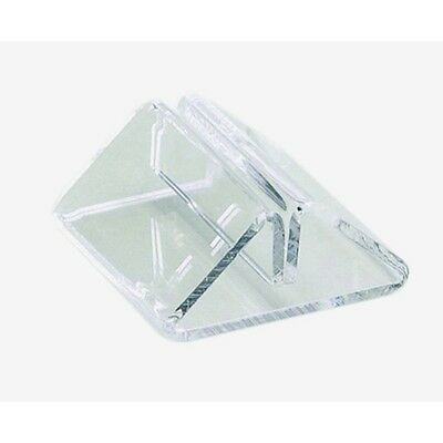 Clear Perspex Tent Type Menu Holder Table Top Holder Bar Pub Set of 5
