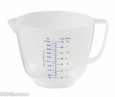Sealfresh Measuring Jug 2.0l Plastic Catering Kitchen Measuring