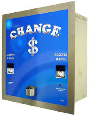American Changer - AC8225 Platinum Stainless Steel High Security Bill Changer