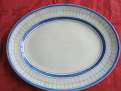Arklow Pottery, Ireland.  Rare Hand Decorated Platter. Very John Ffrench Style