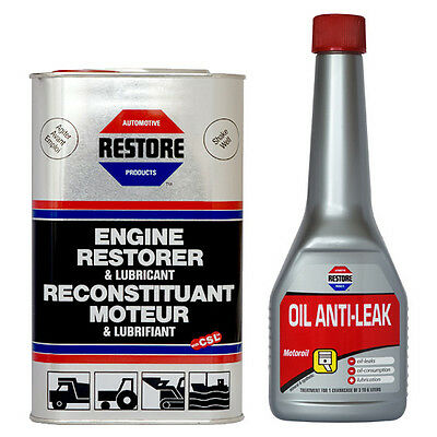 Cure Engine Blue Smoke in 24 Hrs AMETECH RESTORE OIL + VALVE STEM SEAL ANTI-LEAK