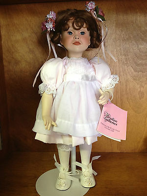 "Paradise Galleries Porcelain Doll 13"" RARE: A PARTY FOR SARAH"