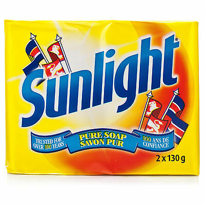 Sunlight Traditional Pure Soap ( 2 x 130g Bars )