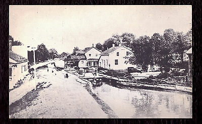 'D & H Canal Kerhonkson' real photo reprint PC published mid-1900s