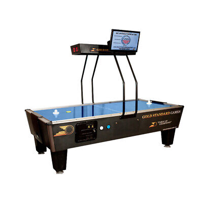 Gold Standard Games Premium Coin Operated Air Hockey Table