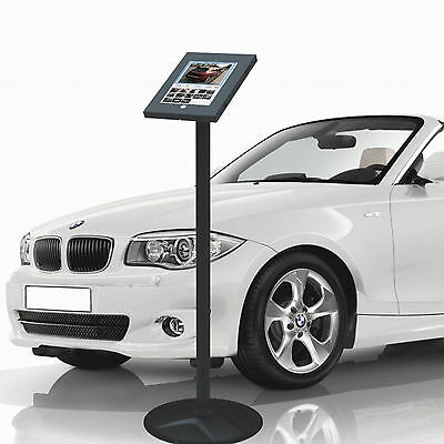 Anti-Theft iPad 2 3 4 Air/2 Secure Floor Stand Lockable Exhibition Display Mount
