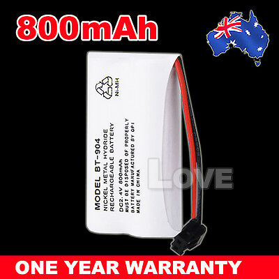 OZ J Cordless Phone Battery For Uniden BT-904 BT-904S BT802 2.4V 800MAH Ni-MH