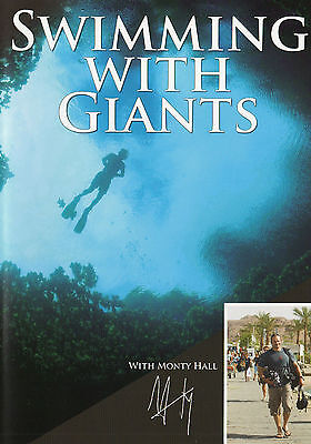 SWIMMING WITH GIANTS - Monty Halls - Marine Documentary DVD (Dolphins, Sharks)