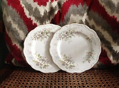 Two starter plates royal Albert Haworth first quality fabulous condition lot 1