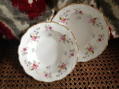 One rimmed soup bowl Royal Albert Tenderness 1st quality super condition