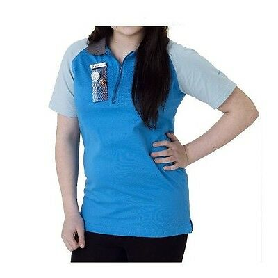 Senior Section Polo Shirt Top Girlguiding Official New