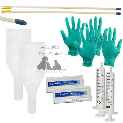 STIP Tip Canine Pipette ArtificiaI Inseminations Dog AI Tube Kit Rods Sheaths