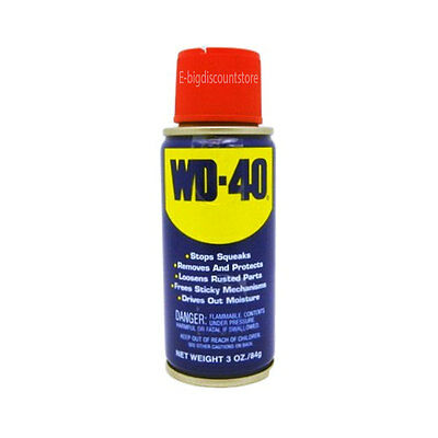 WD-40 two-ways Spray Lubricant Aerosol Can  - 3 oz Multi-use NEW!!!!