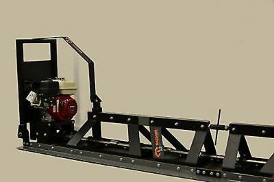 New Packer Brothers PB16 power concrete Truss Screed Honda Includes 2 Winches