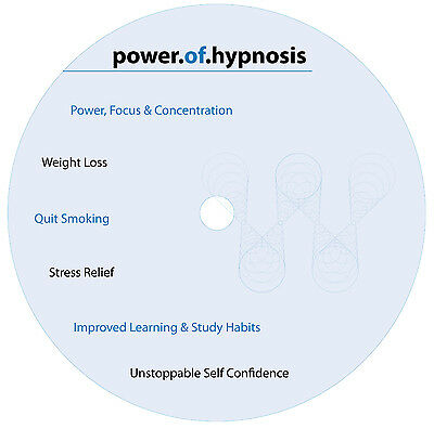 Hypnosis CD - Stop Smoking, Weight Loss, Stress Relief, Improved Learning & MORE