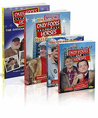 Only Fools and Horses FOUR Brand New Books Crazy Bargain Price Perfect Gift Quiz