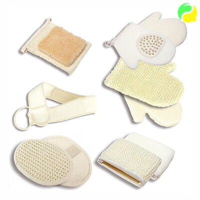 DONEGAL Body Care Natural Accessories Bath And Shower Massage Sponge Glove Belt