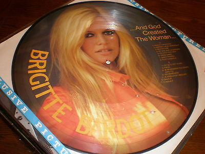 Brigitte Bardot PICTURE DISC And God Created The Woman