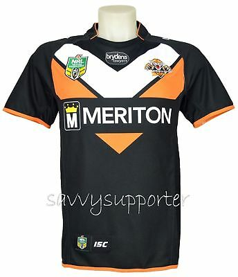 Wests Tigers NRL Home Jersey 'Select Size' S-7XL BNWT5