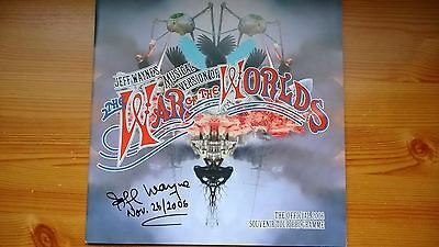 Jeff Wayne's War Of The Worlds 2006 Tour Programme - Signed By Jeff