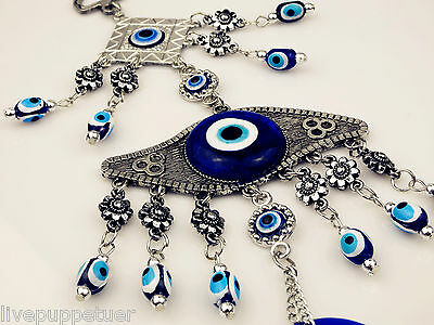 Beautiful Evil Eye Pendant Turkish Nazar Beads Car House Charm for Protection