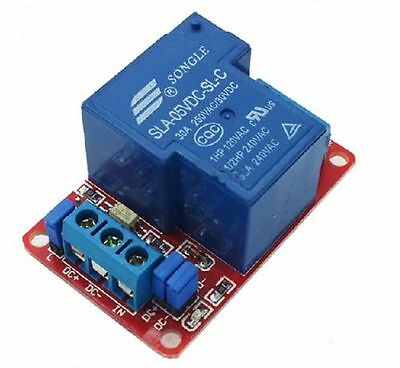 Usa! 2 Pcs 1 Channel 5 Vdc 30 Amp High/Low Level Input Optocoupler Relay Board