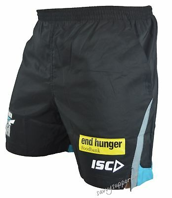 Port Adelaide Power AFL Training Shorts 'Select Size' S-3XL BNWT5
