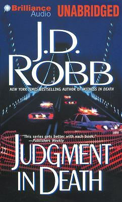 Judgment in Death 11 by J. D. Robb (2012, CD, Unabridged)