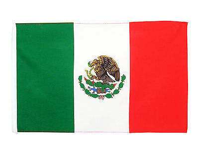 Stockflagge  Mexiko 30 x 45 cm ohne Stock mexikanische Flagge Nationalflagge