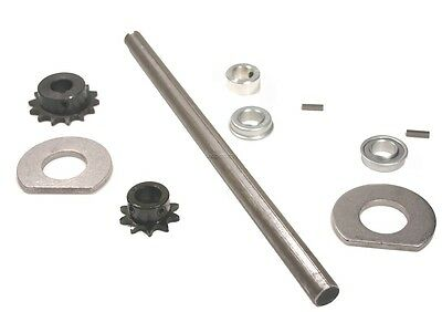"New Go-cart/Minibike Complete Jackshaft Kit 3/4"" by 14"""