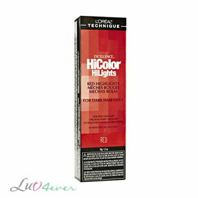 L'Oreal Excellence HiColor HiLights for Dark Hair 1.2 oz - Red / Magenta