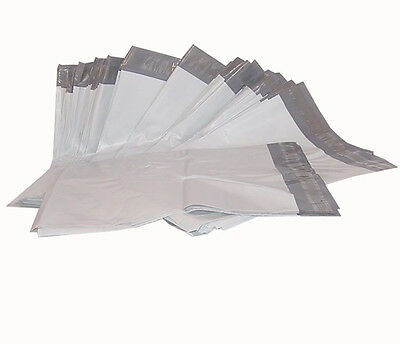 """300 White 12x15.5"""" Poly Mailer Envelopes Plastic Shipping Mailing Postal Bags"""