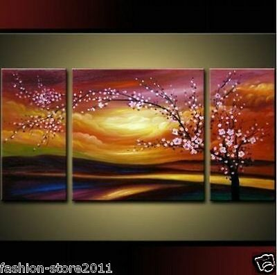 MODERN ABSTRACT HUGE WALL ORNAMENTS CANVAS OIL PAINTING(no frame)