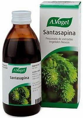 A.VOGEL SANTASAPINA JARABE 200ml 100 % ORIGINAL