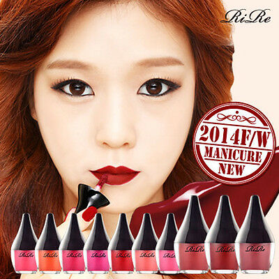 11 COLOR Perfect Lip Manicure Waterproof Lip Tint All day Real Strong color RIRE
