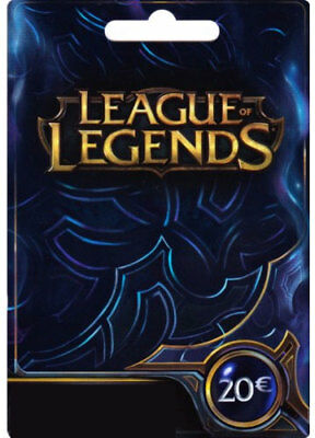 League of Legends €20 Key [DE] Digital Code LoL Prepaid Card Karte 20 EUR Euro