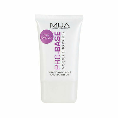 MUA Makeup Academy PRO-BASE Professional Moisturising Flawless Foundation Primer