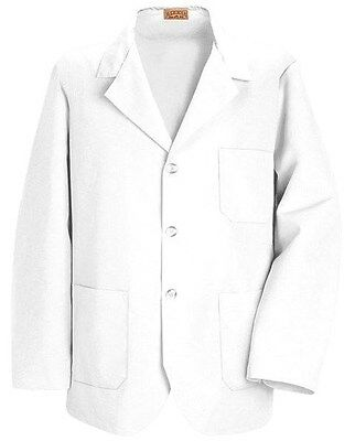 Red Kap KP30 – White, Lapel Counter/Lab/Shop Coat 2XL
