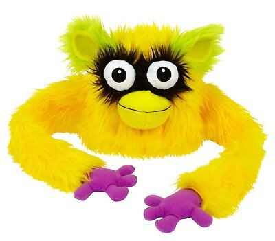 Hugalope Friends Hat Furry Puppet Monster Toy Kids Yellow