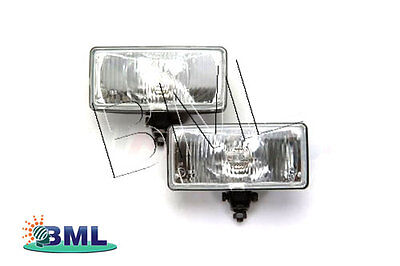Land Rover Range Rover Classic Pair Of Rectangular Driving Lamps. Part- Gdl002