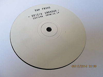 "Origin Unknown Eastern Promise EP 12"" RAM Records 1992"
